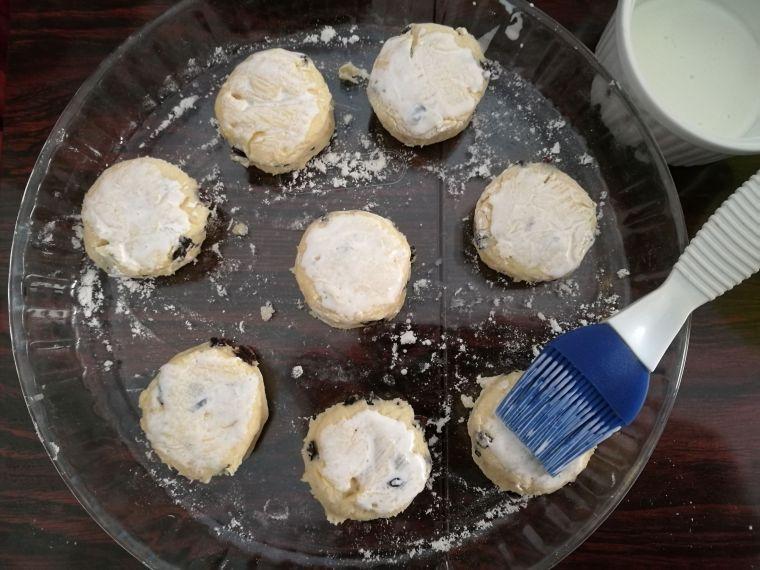 scones crème liquide