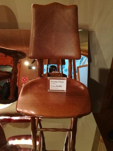 Chaise pour la couture