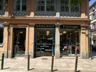 Groucho vintage, place la Bourse