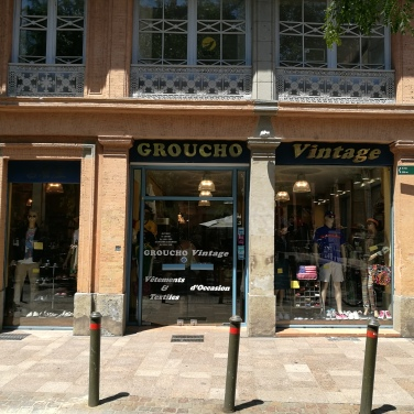 Groucho vintage, place la Bourse