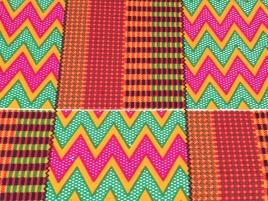 Imprimé inspiré du kente de la marque Suprême