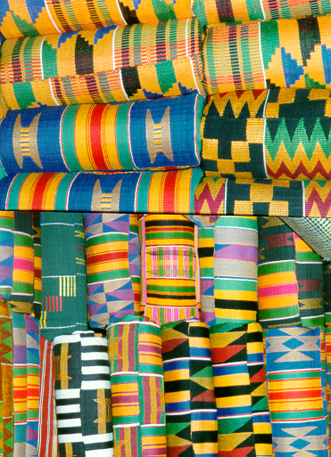 Kente, auteur : Bottracker, CC BY-SA 3.0, source : Wikimedia Commons