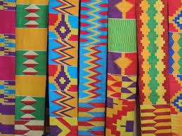 Pagne kente, source : Kitenge. Photo protégée