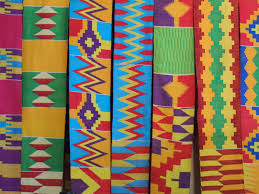 Pagne kente, source : Kitenge. Photo protégée